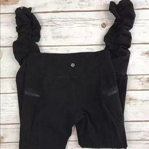 Lululemon Insight Pant *Luon Black Rare Size 4